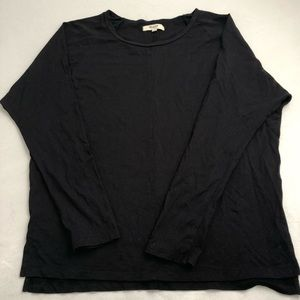 Madewell Black long sleeve shirt